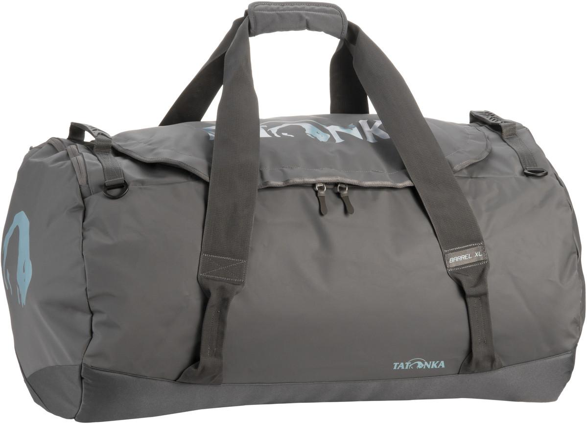 Reisegepaeck für Frauen - Tatonka Reisetasche Barrel XL Titan Grey (innen Grau) (110 Liter)  - Onlineshop Taschenkaufhaus