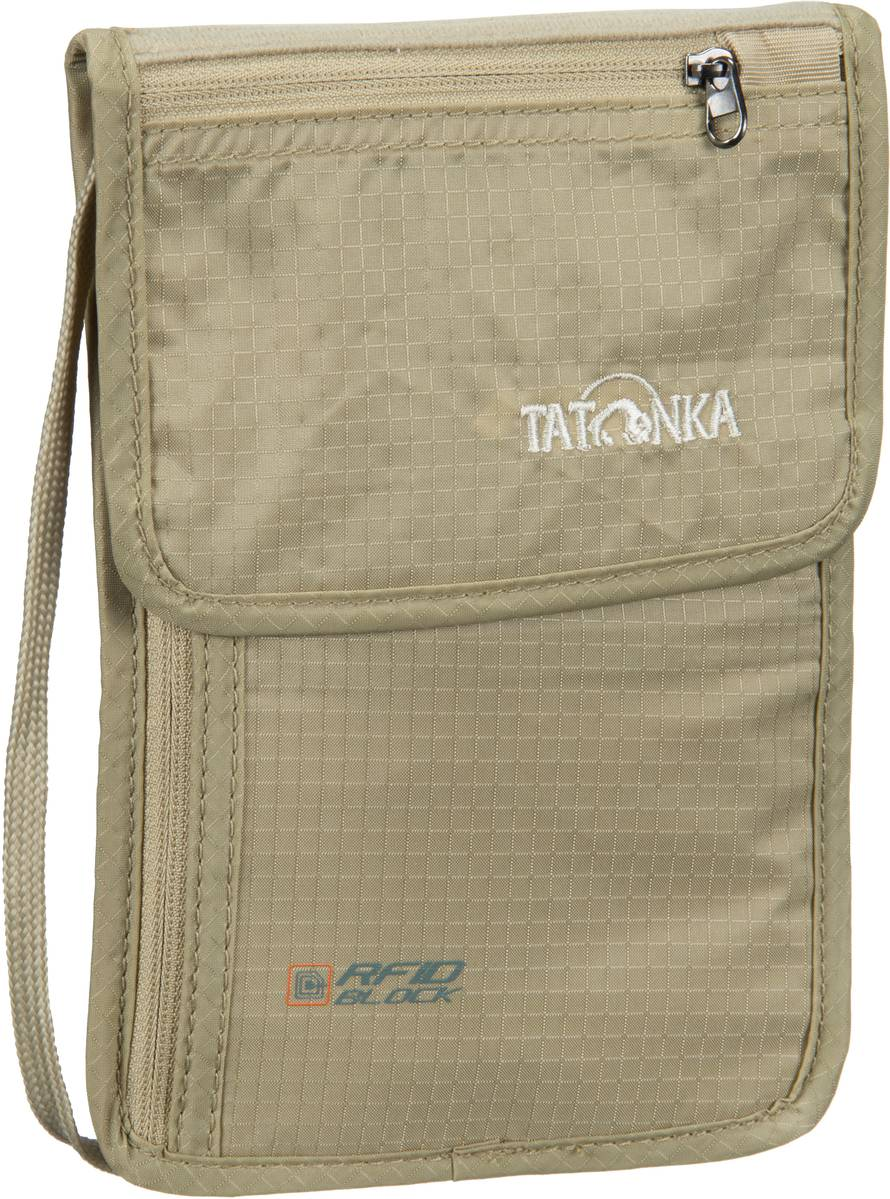 Tatonka Skin Neck Pouch RFID B Natural - Reisez...