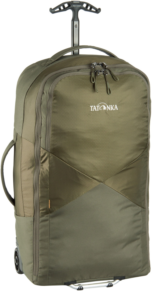 Tatonka Escape Roller LT Olive (innen Khaki) Trolley Koffer