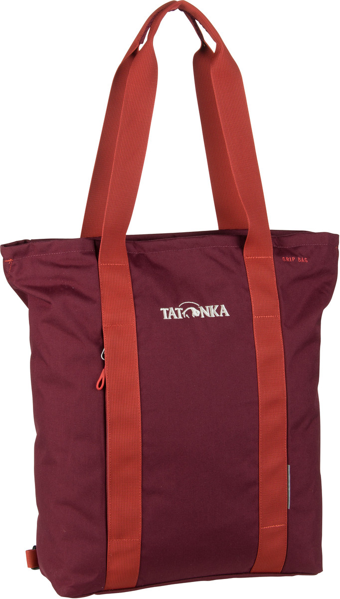 Handtasche Grip Bag Bordeaux Red (22 Liter)