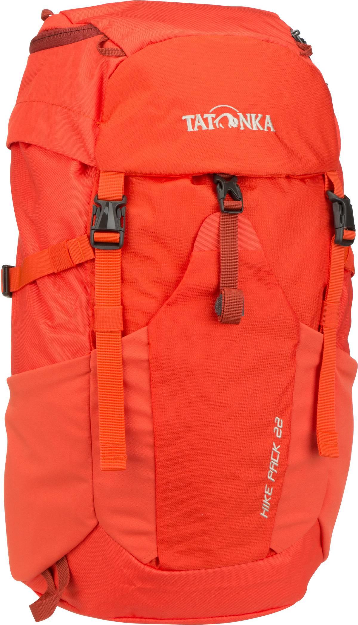 Wanderrucksack Hike Pack 22 Red Orange (22 Liter)