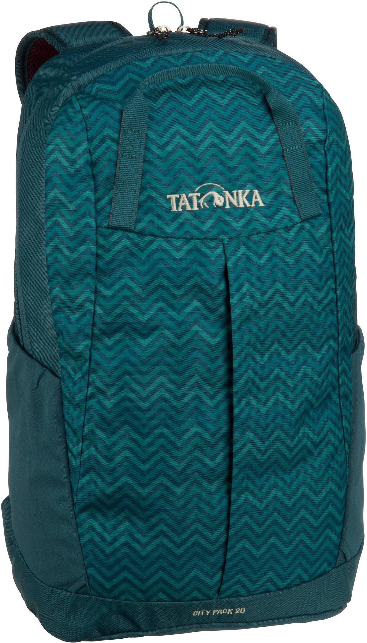 Rucksack / Daypack City Pack 20 Teal Green Zig Zag (20 Liter)