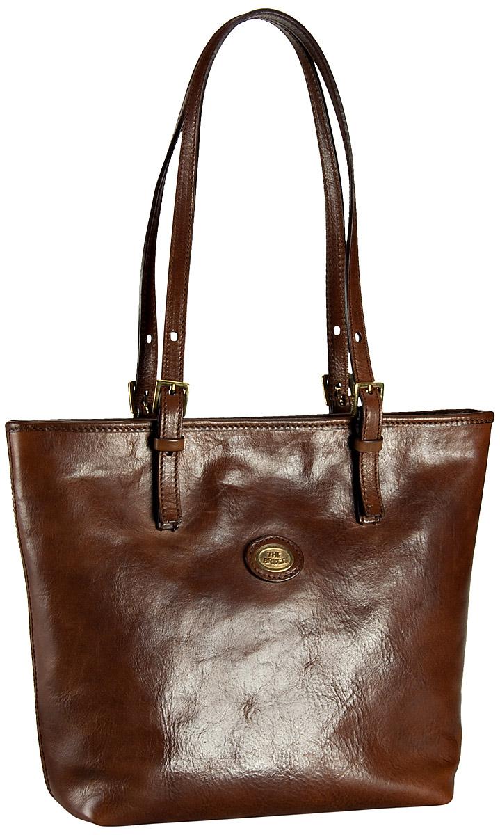 Handtasche Story Donna Small Shopper Braun
