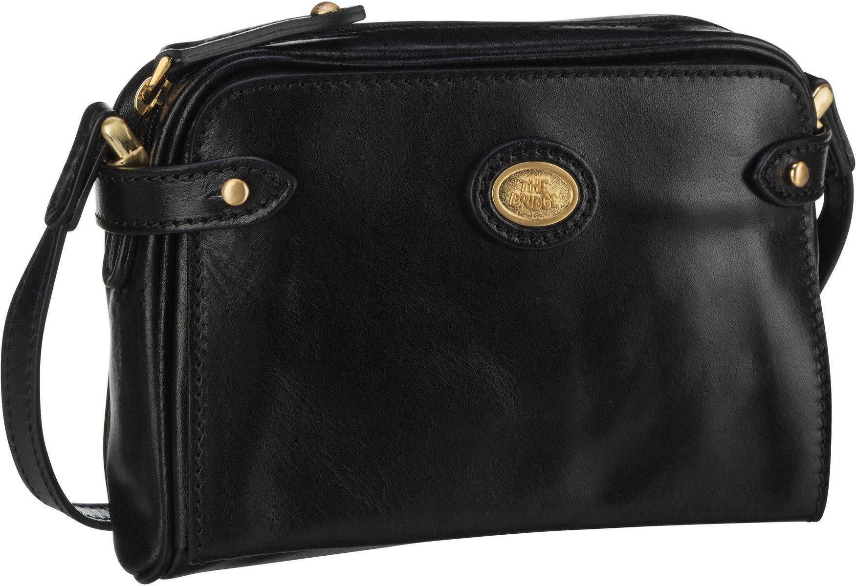 Umhängetasche Story Donna Shoulder Bag Nero/Oro