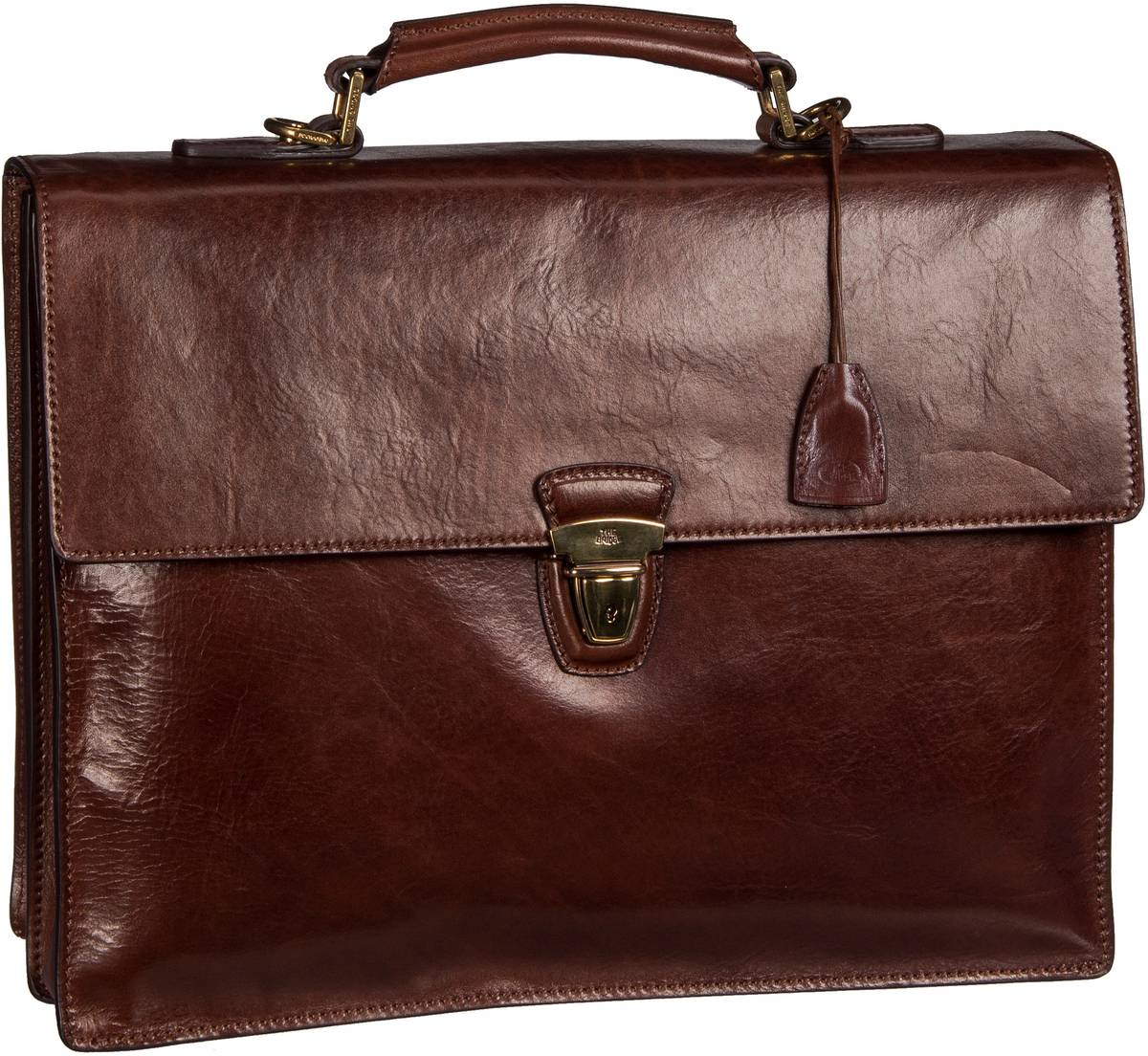 Story Uomo Business Ledertasche Braun