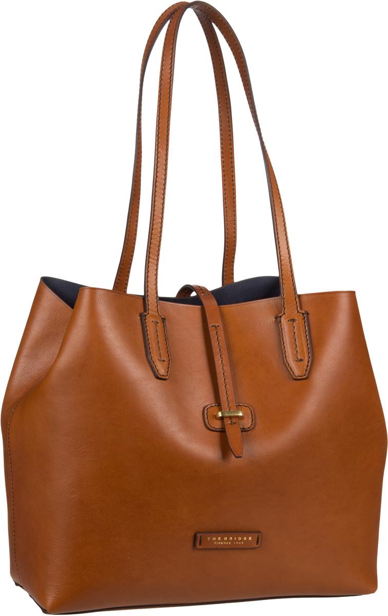 Handtasche Dalston Shopper 1307 Cognac/Oro