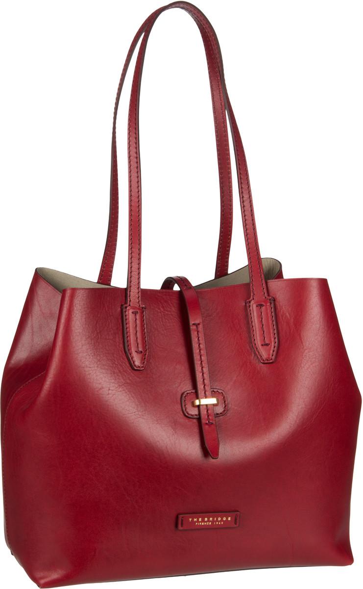 Handtasche Dalston Shopper 1307 Rosso Ribes/Oro (innen: Beige)