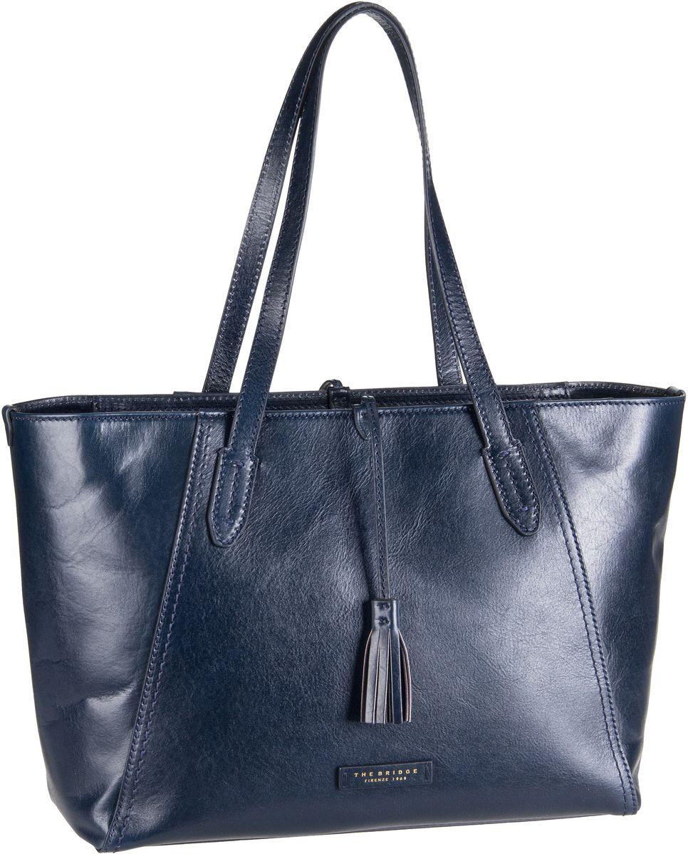 Handtasche Florentin Shopper 3447 Blu Navy/Oro Vintage