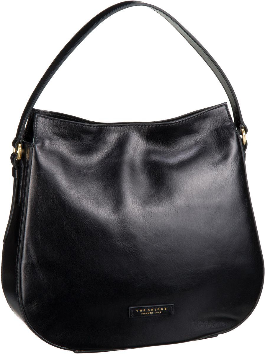 Handtasche Florentin Damentasche 3437 Nero/Oro Vintage