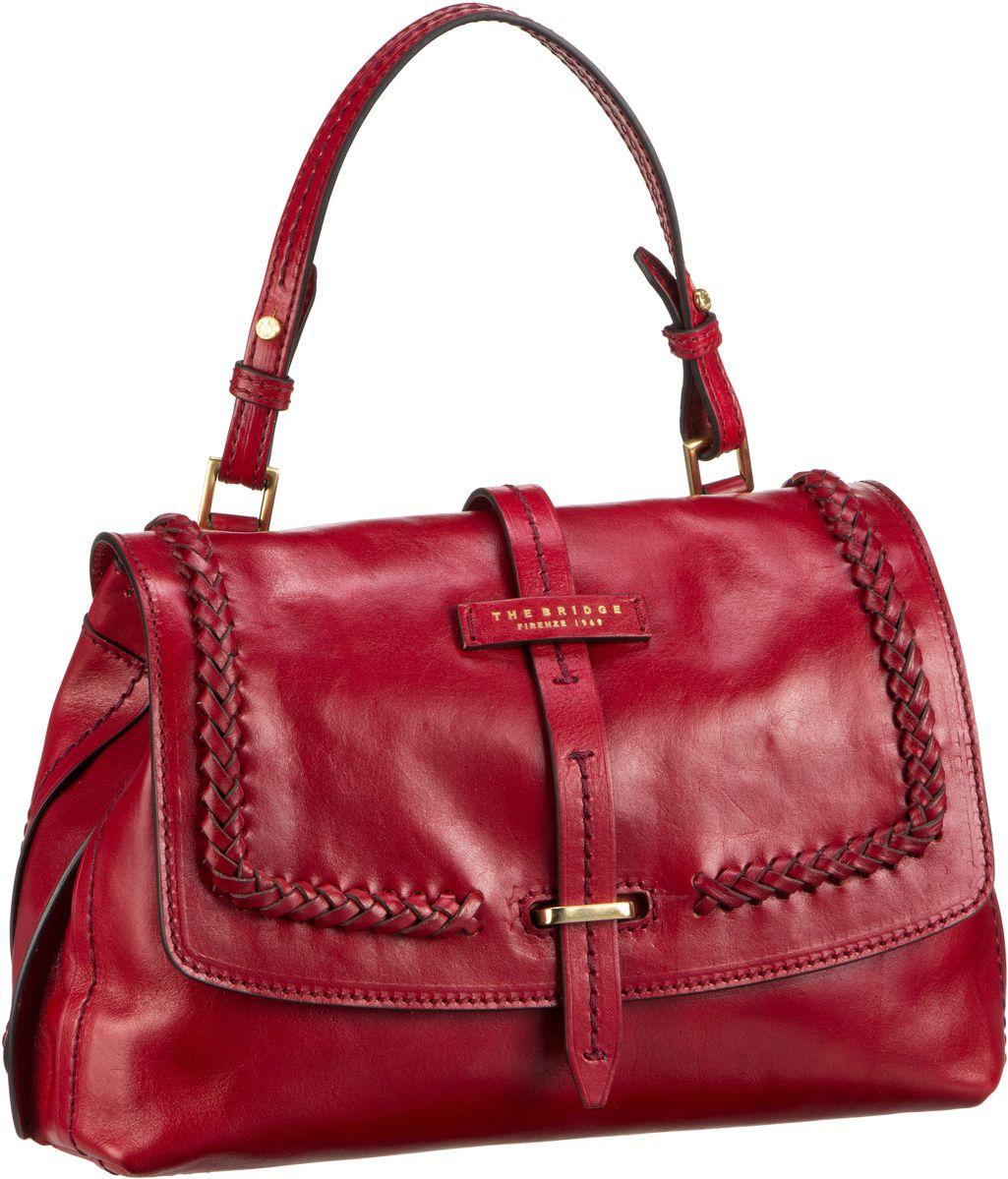 Handtasche Murakami Handtasche 3407 Rosso (innen: Gelb)