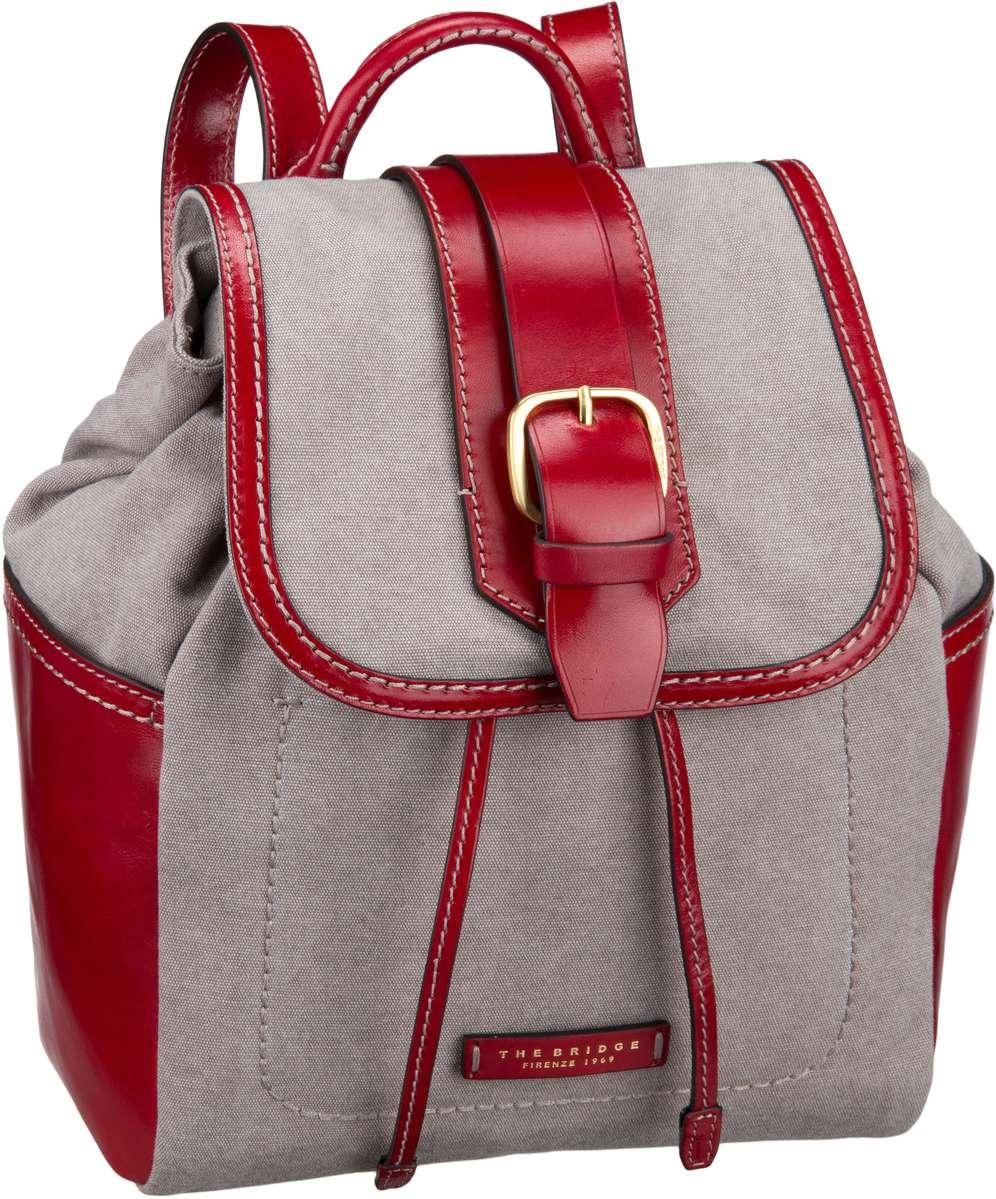 Rucksack / Daypack Auster Rucksack 1928 Naturale/Rosso