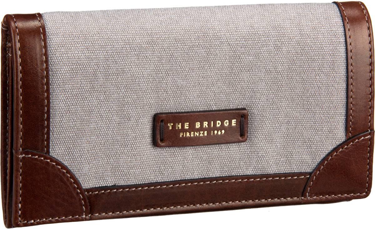 Geldboersen für Frauen - The Bridge Auster Damenbörse 7328 Naturale Marrone Kellnerbörse  - Onlineshop Taschenkaufhaus