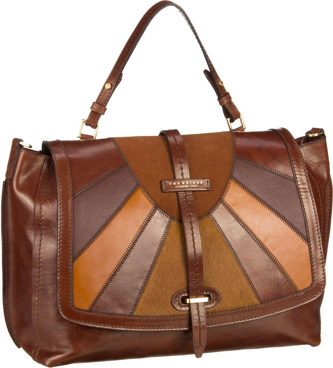 Handtasche Barga Handtasche 1327 Marrone/Oro