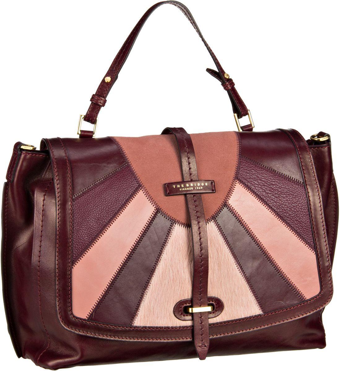 Handtasche Barga Handtasche 1327 Rosso Rubino/Oro