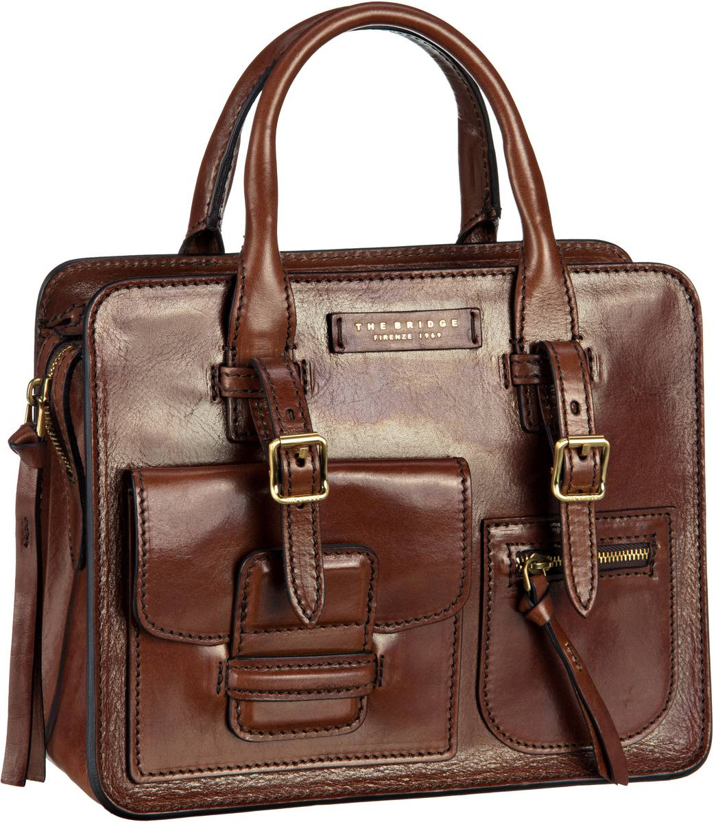 Handtasche Cortona Shopper 2928 Marrone/Oro