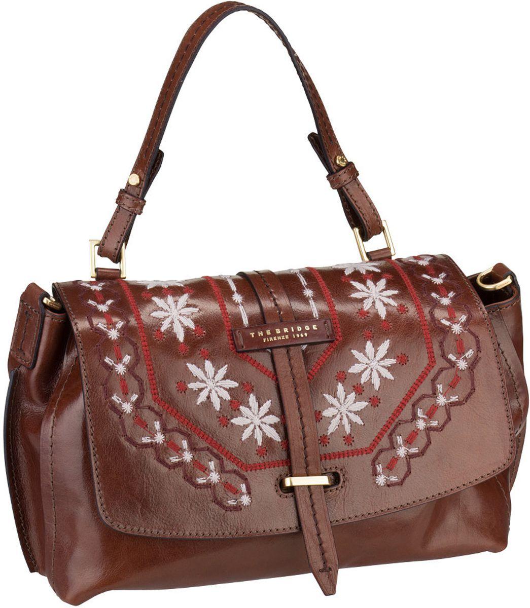 Handtasche Fiesole Handtasche 3407 Marrone/Oro