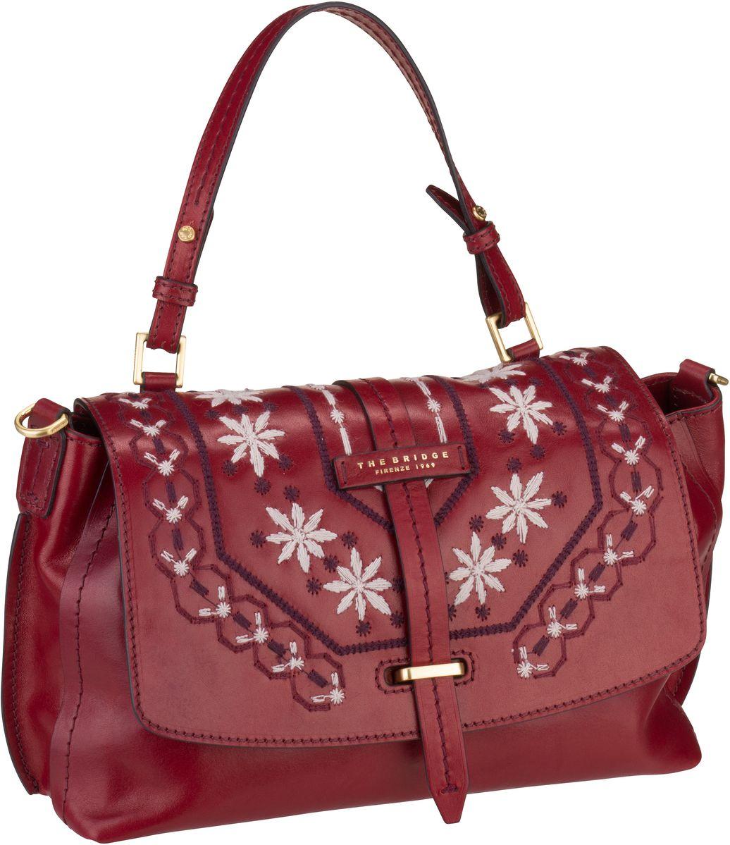 Handtasche Fiesole Handtasche 3407 Rosso Ribes/Oro