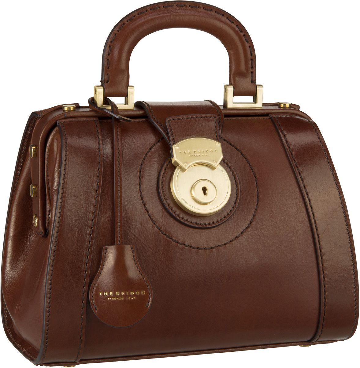 Handtasche Rufina Arzttasche 3018 Marrone/Oro