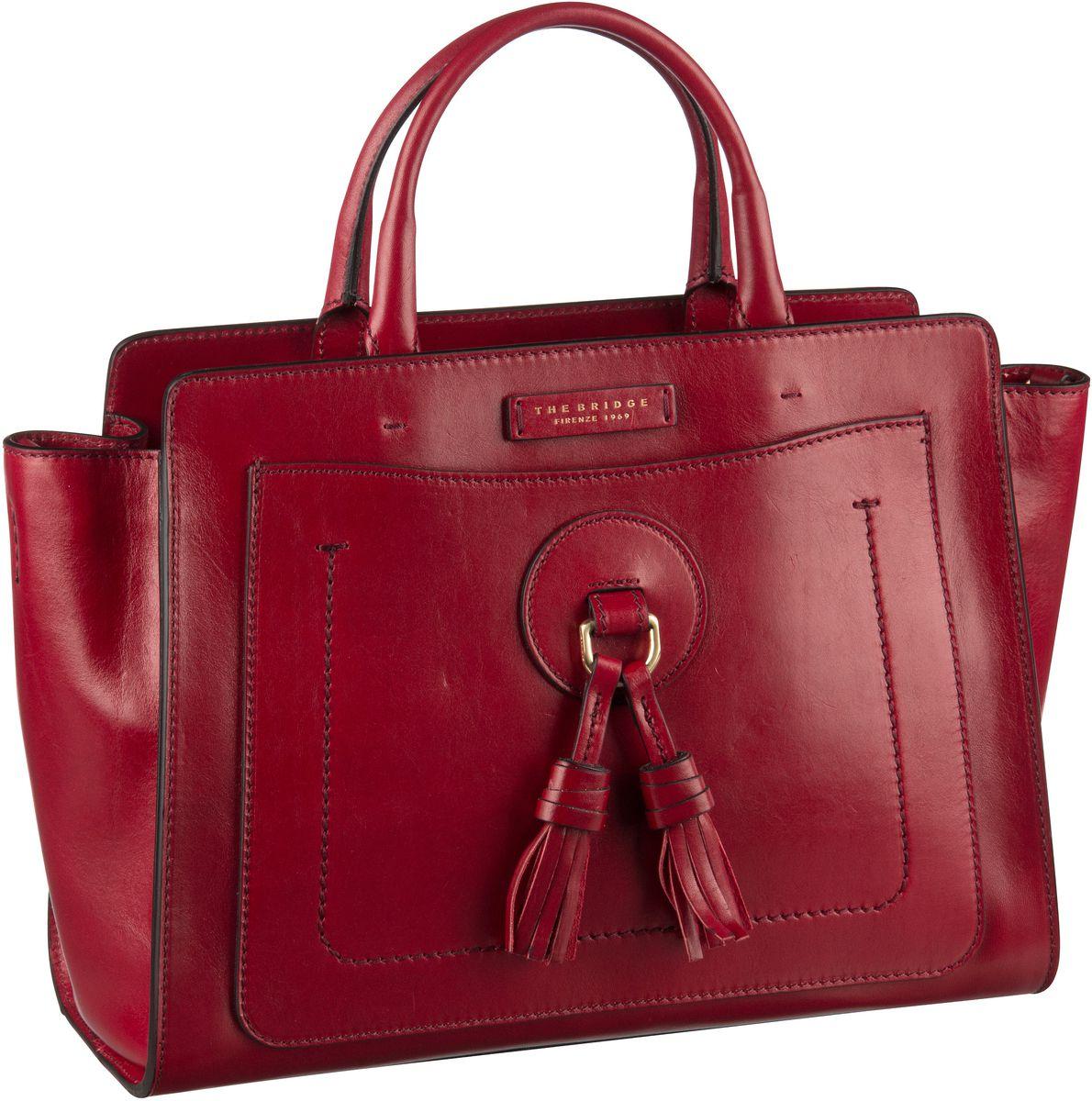 Handtasche Santacroce Handtasche 3318 Rosso Ribes/Oro