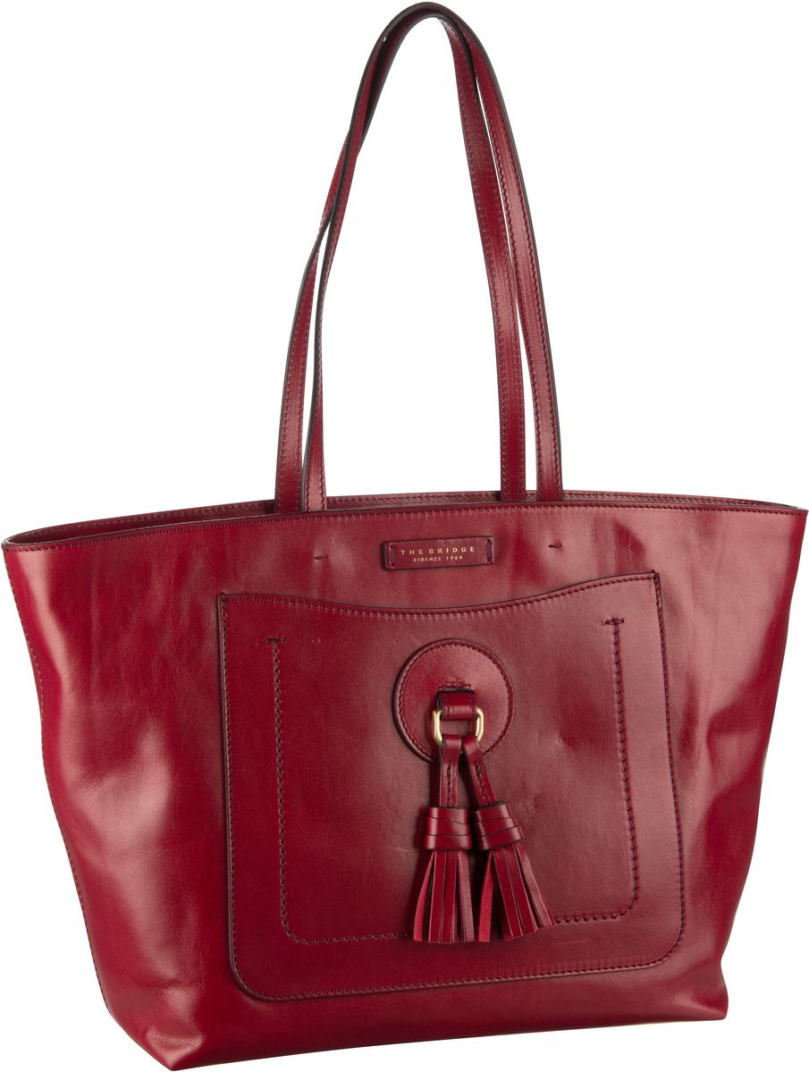 Handtasche Santacroce Shopper 3328 Rosso Ribes/Oro