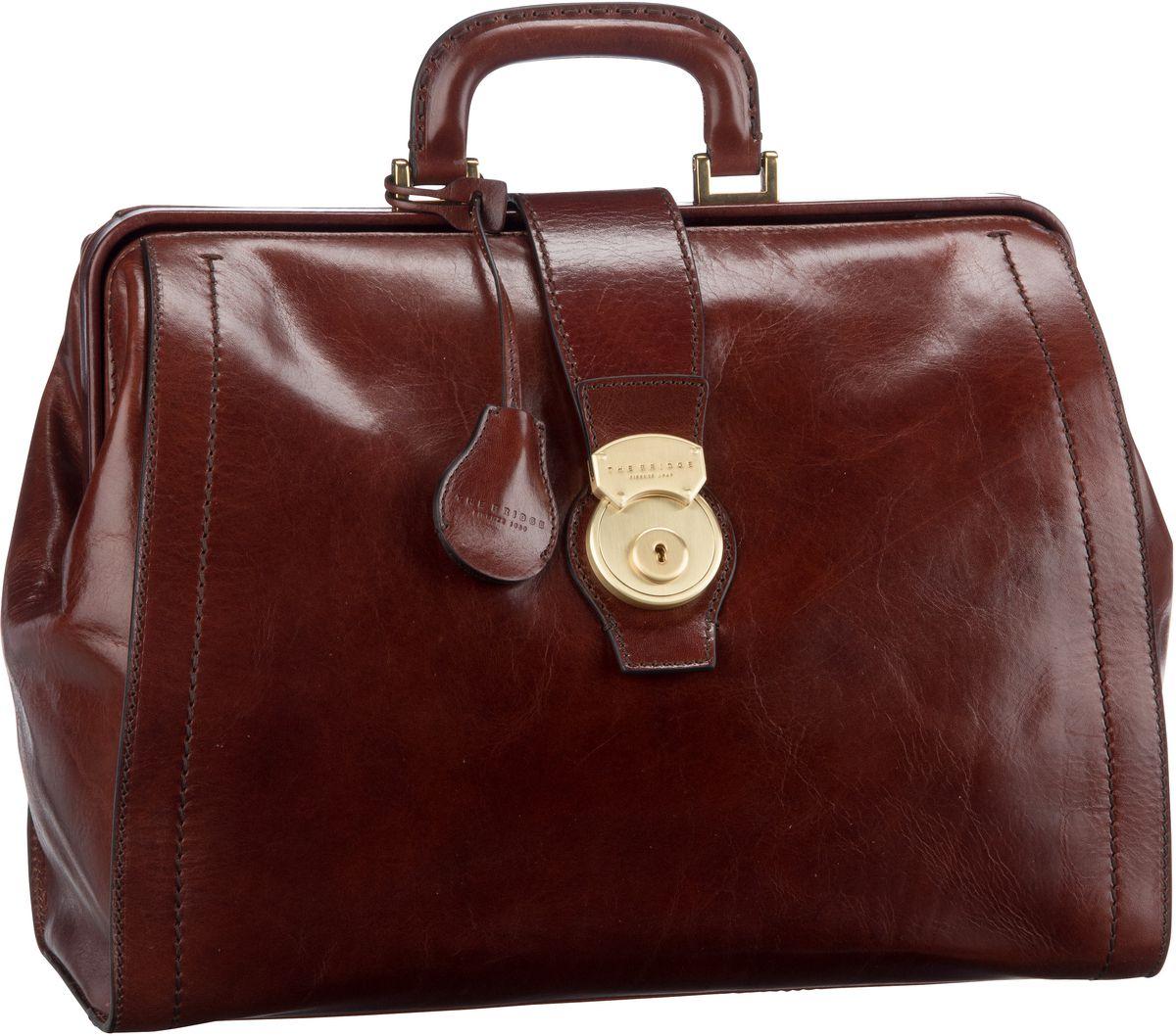 Handtasche Capalbio Arzttasche 2058 Marrone/Oro