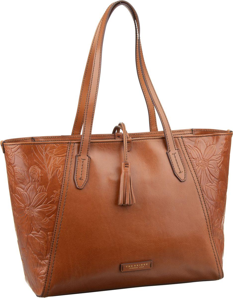Handtasche Capraia Shopper 3447 Cognac/Oro