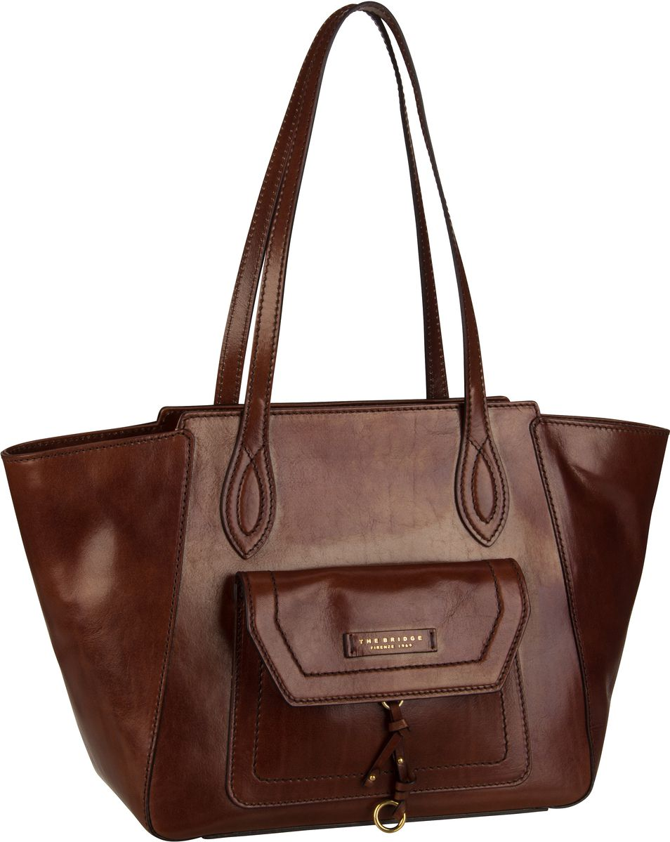 Handtasche Elba Shopper 2949 Marrone/Oro