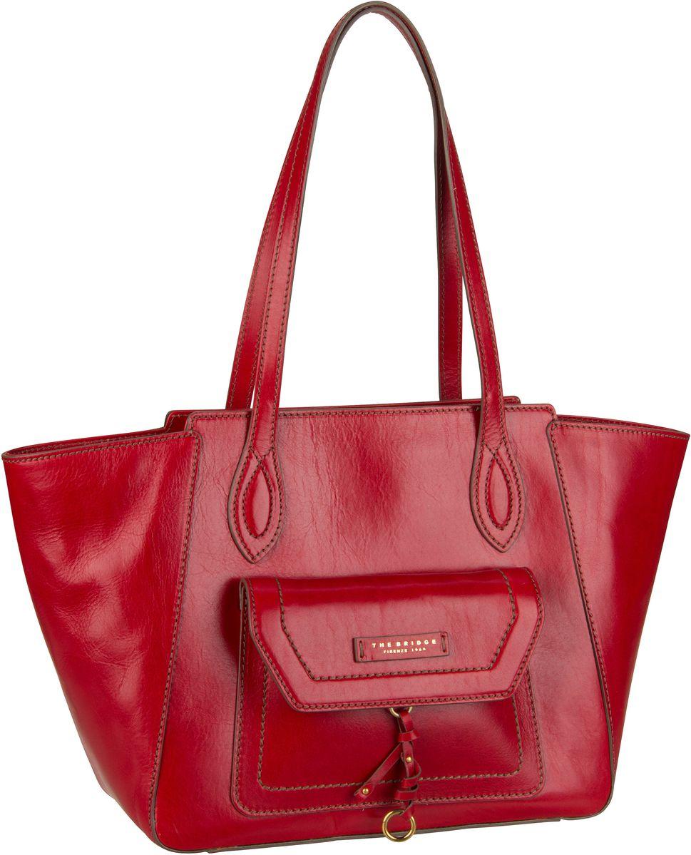 Handtasche Elba Shopper 2949 Rosso Ciliegia/Oro