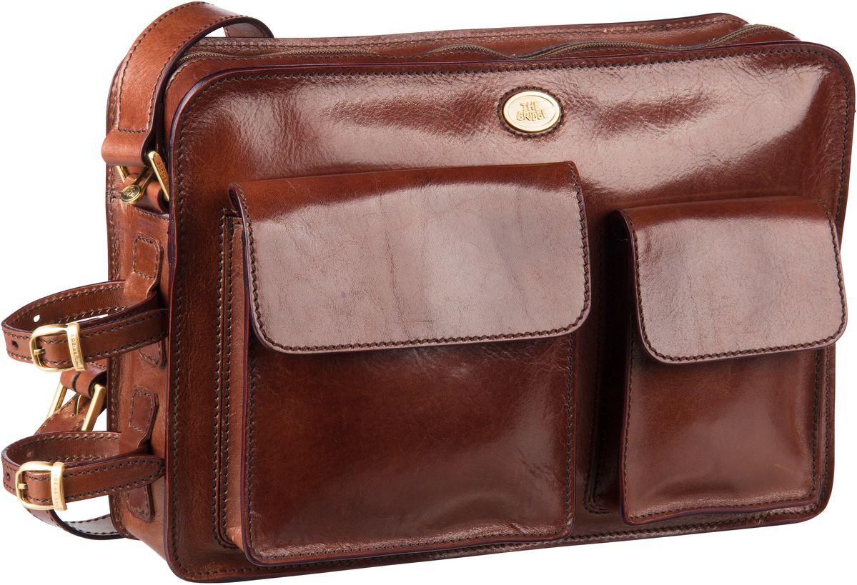 Umhängetasche Story Uomo Man Bag 4409 Marrone/Oro