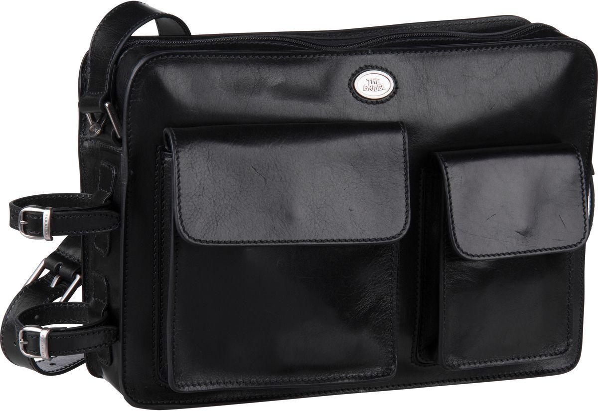 Umhängetasche Story Uomo Man Bag 4409 Nero/Rutenio
