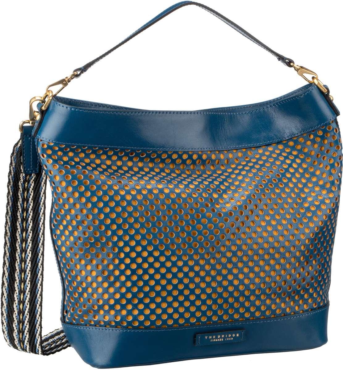 Handtasche Palmaiola Hobo Bag 2809 Blu Tirreno/Oro