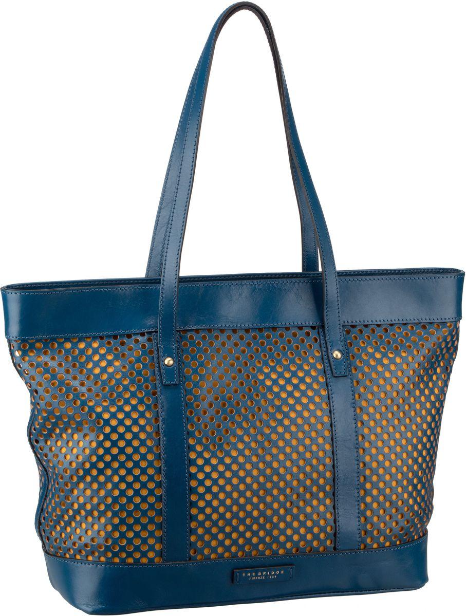 Handtasche Palmaiola Shopper 2829 Blu Tirreno/Oro