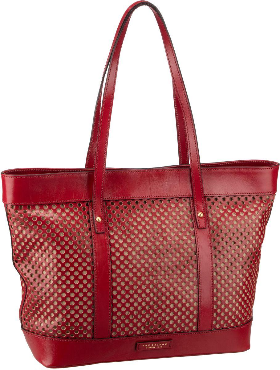 Handtasche Palmaiola Shopper 2829 Rosso Ciliegia/Oro