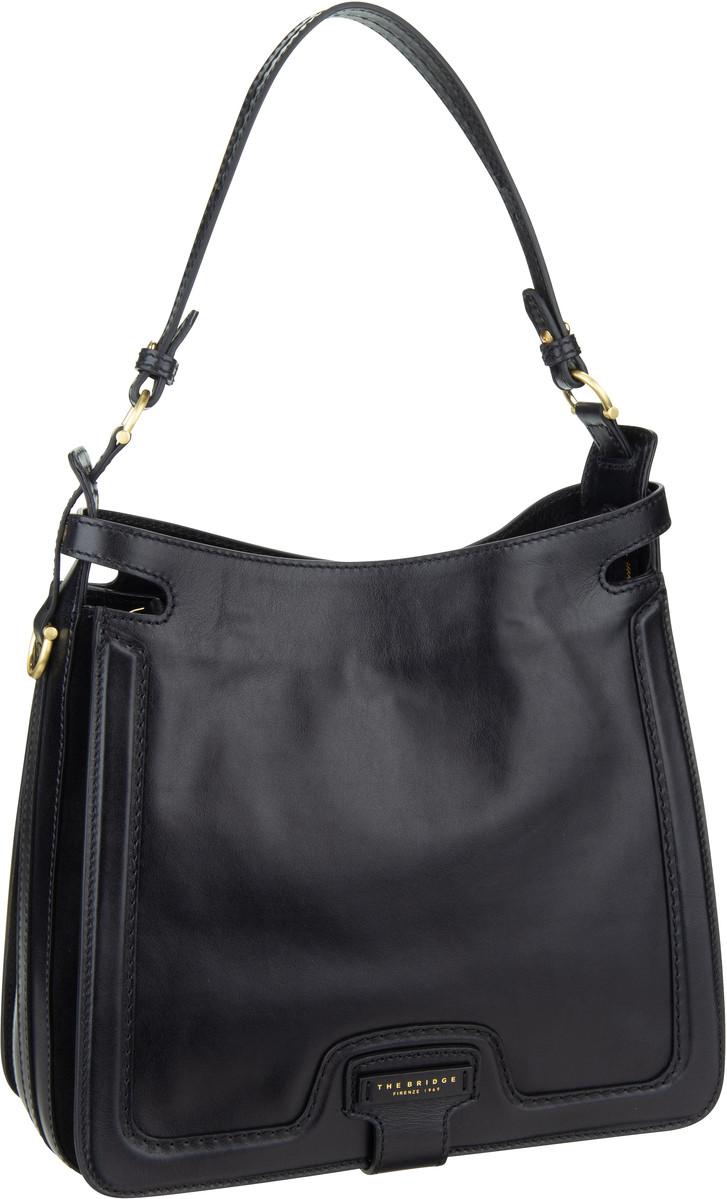 Handtasche Giglio Hobo Bag 3039 Nero/Oro