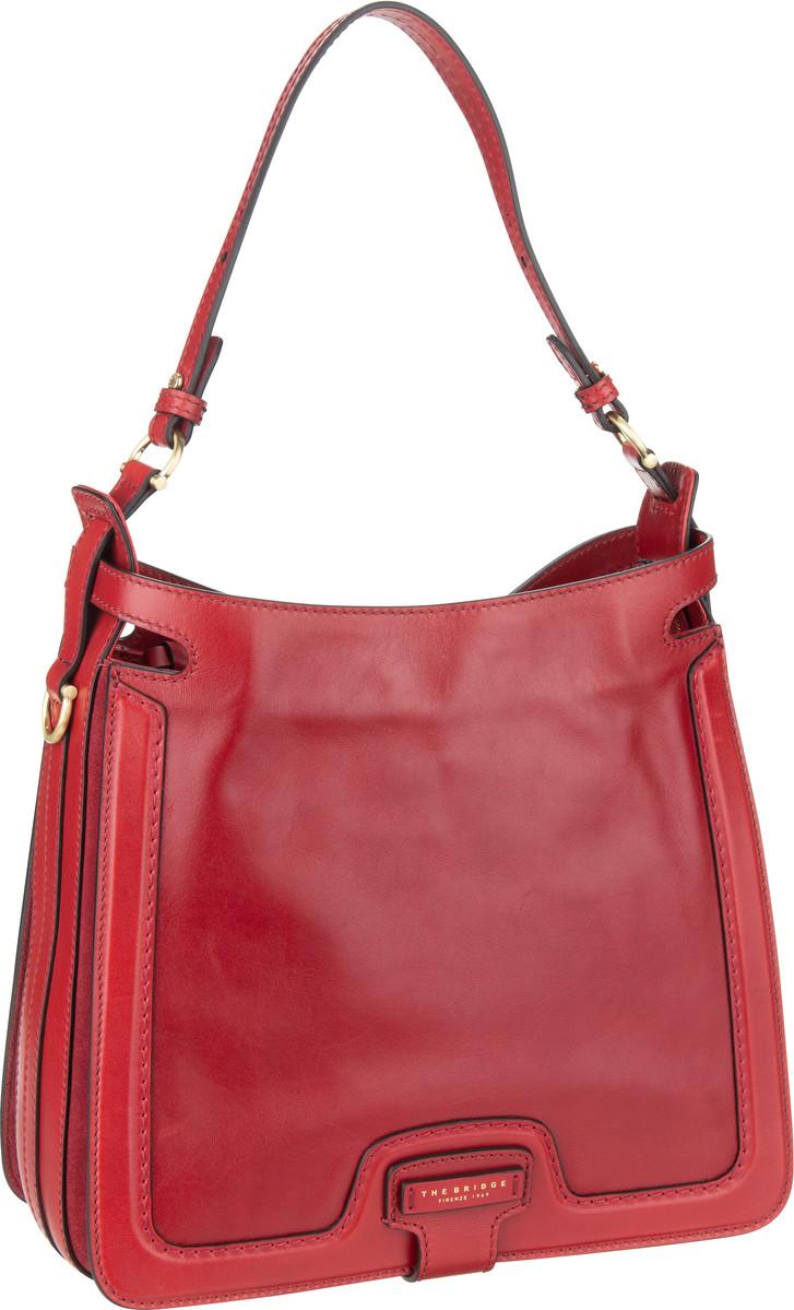 Handtasche Giglio Hobo Bag 3039 Rosso Ciliegia/Oro