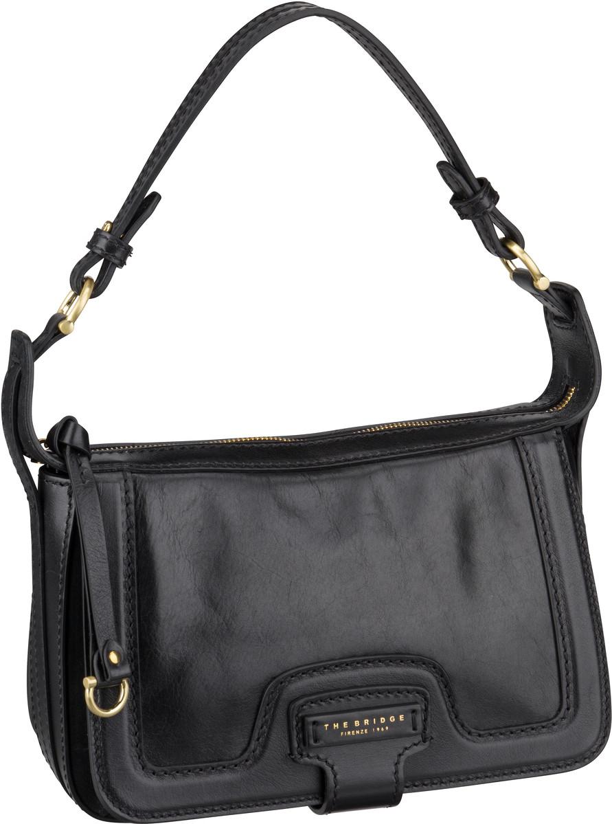 Handtasche Giglio Schultertasche 3049 Nero/Oro