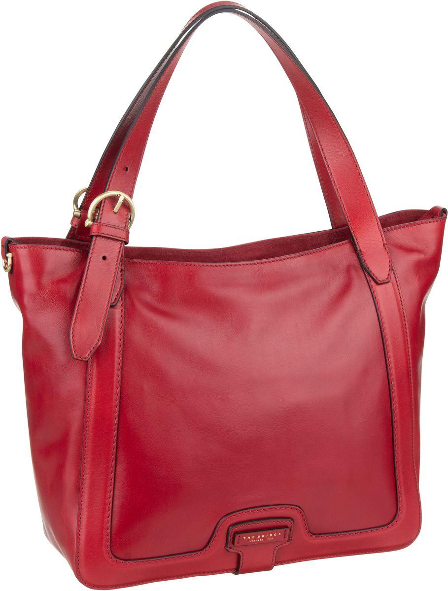 Handtasche Giglio Shopper 3069 Rosso Ciliegia/Oro