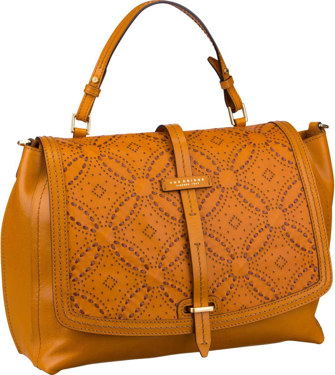 Handtasche Cerboli Handtasche 1327 Giallo Senape/Oro