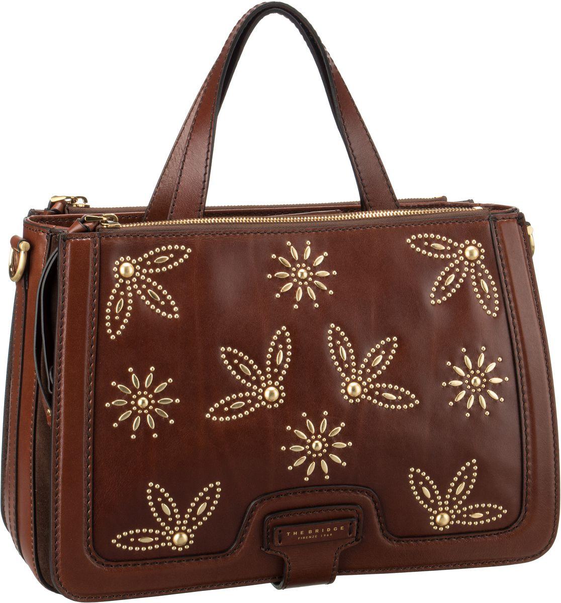 Handtasche Giglio Handtasche 3029 Studs Marrone
