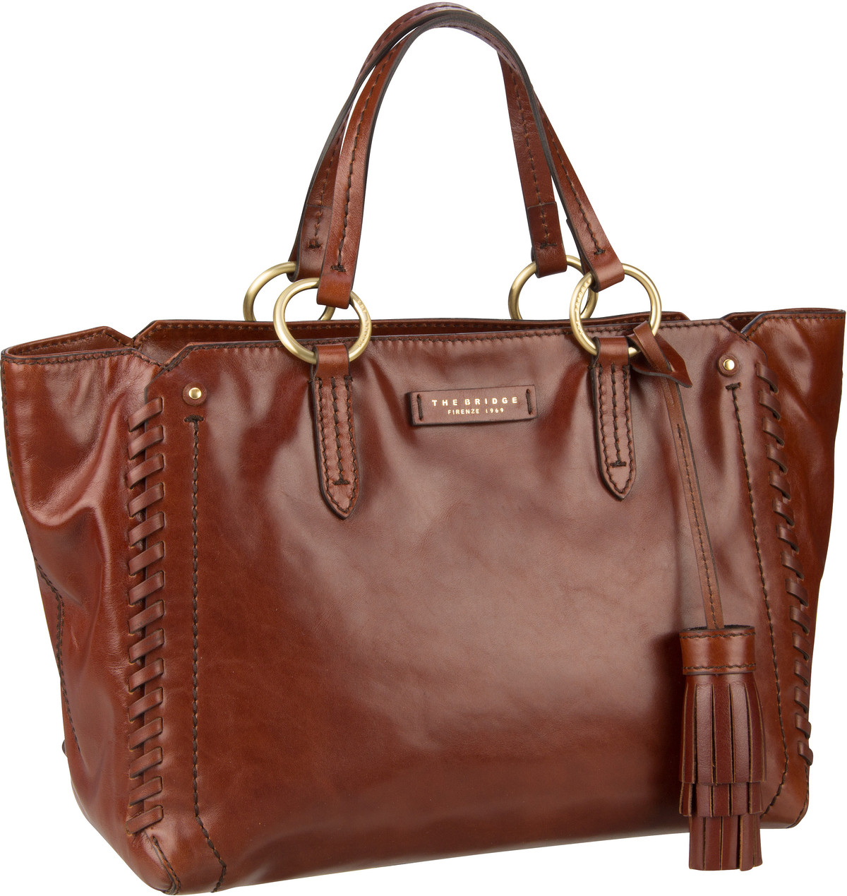 Handtasche Vallombrosa Shopper 5919 Marrone/Oro