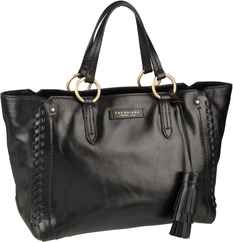 Handtasche Vallombrosa Shopper 5919 Nero/Oro
