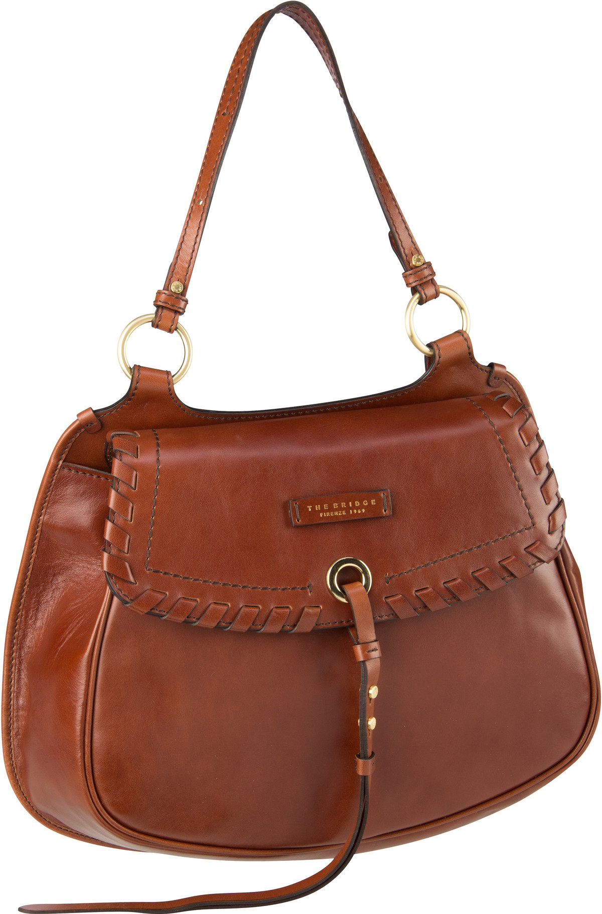 Handtasche Vallombrosa Shopper 5939 Marrone/Oro
