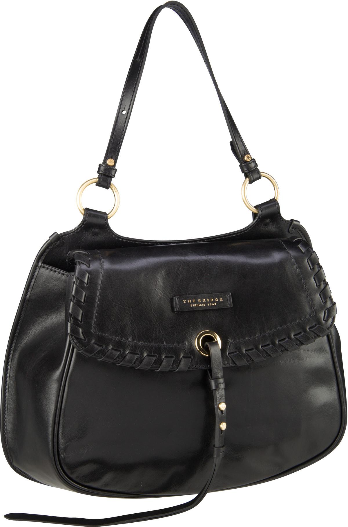 Handtasche Vallombrosa Shopper 5939 Nero/Oro
