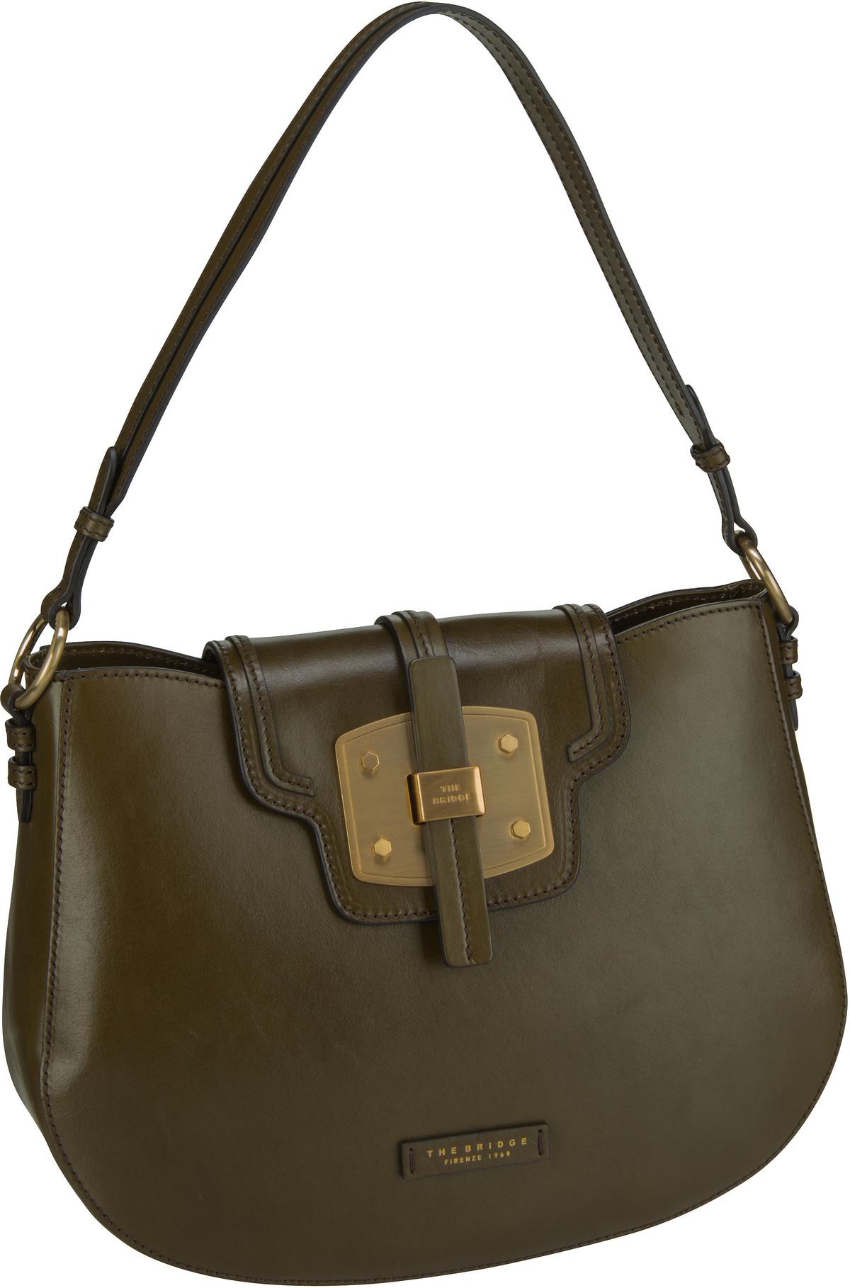 Handtasche Lambertesca Hobo Bag 1829 Green Bosco