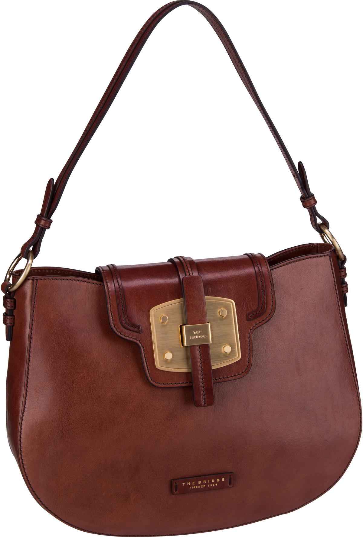 Handtasche Lambertesca Hobo Bag 1829 Marrone