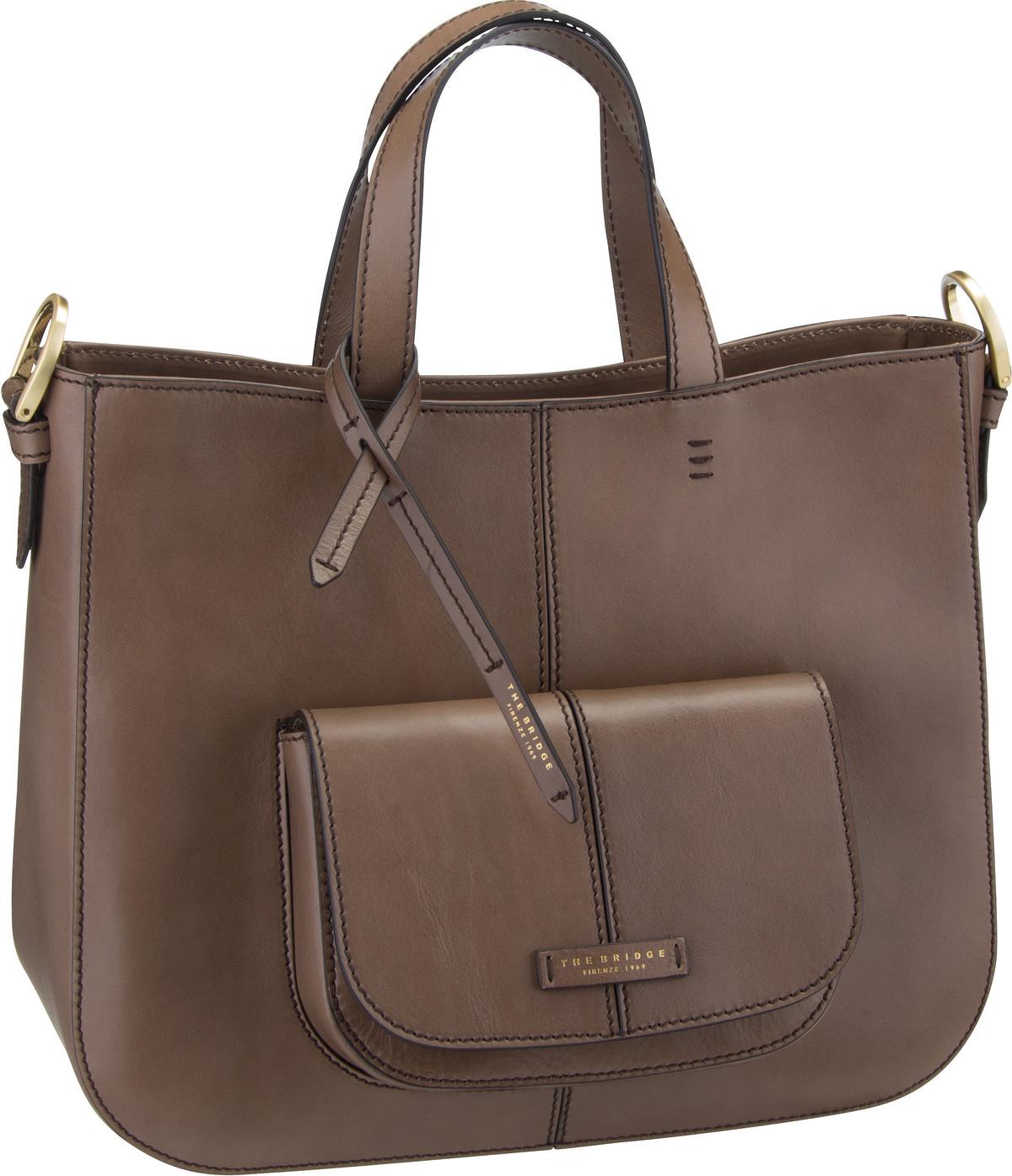 Shopper Faentina Handtasche 4649 Taupe/Oro