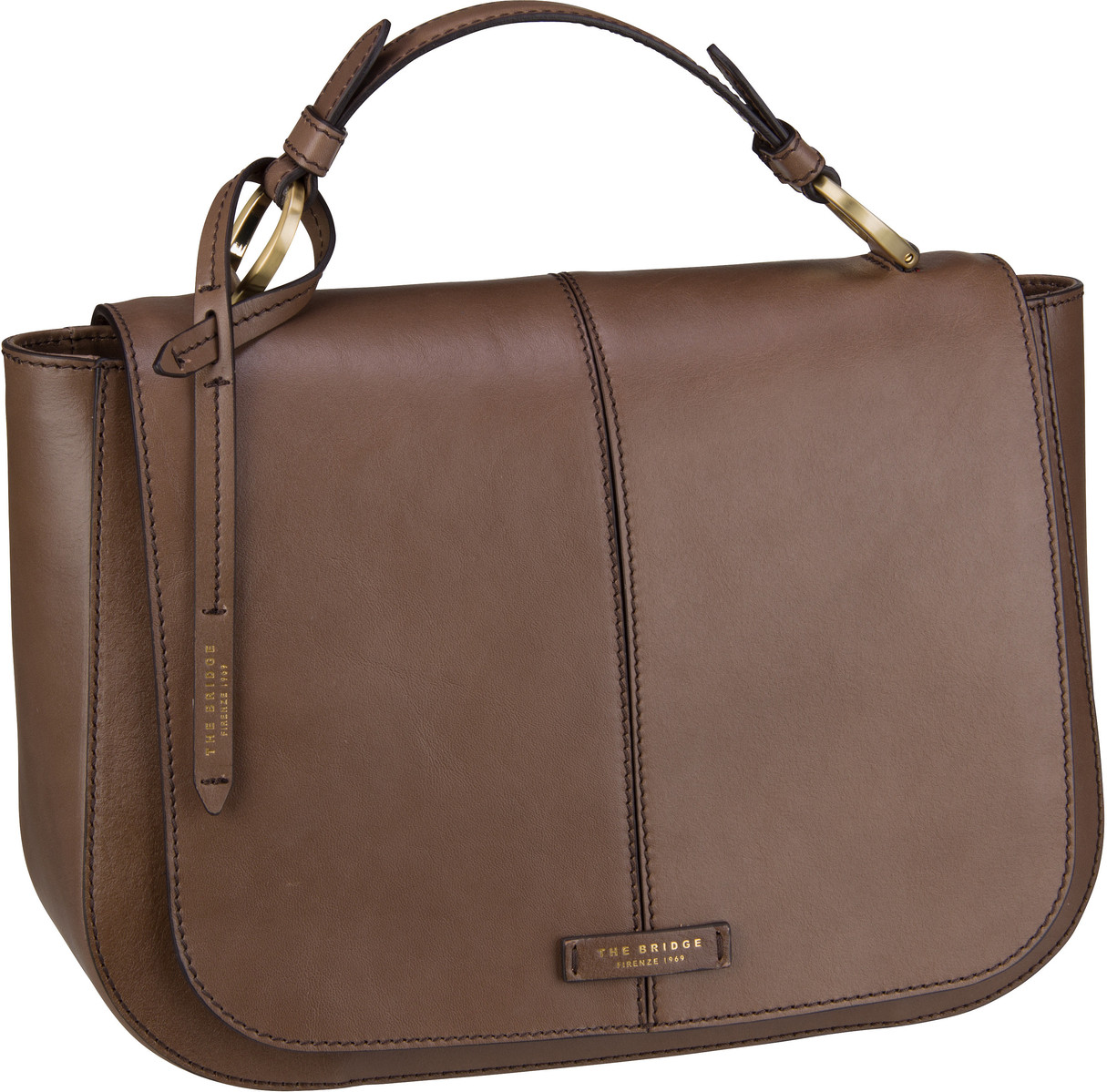 Handtasche Faentina Handtasche 4659 Taupe/Oro