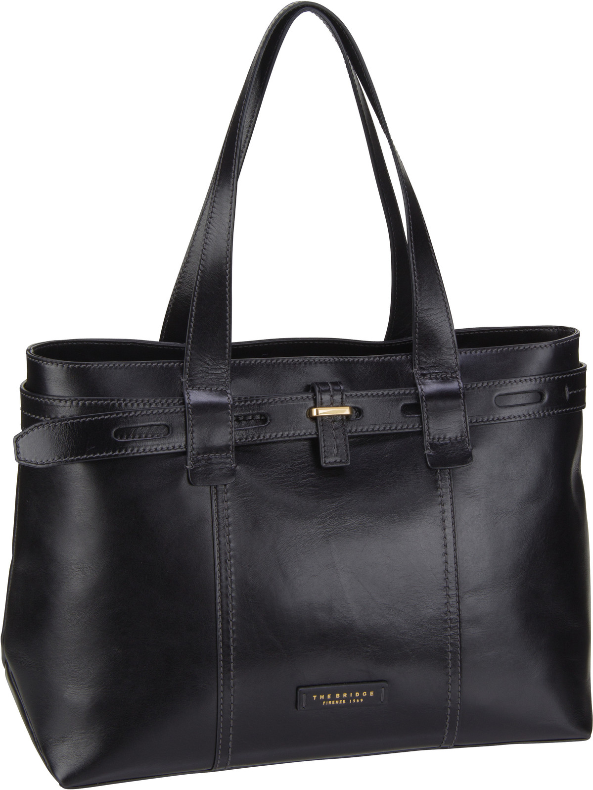 Handtasche Vigna Nuova Handtasche 5859 Nero/Oro