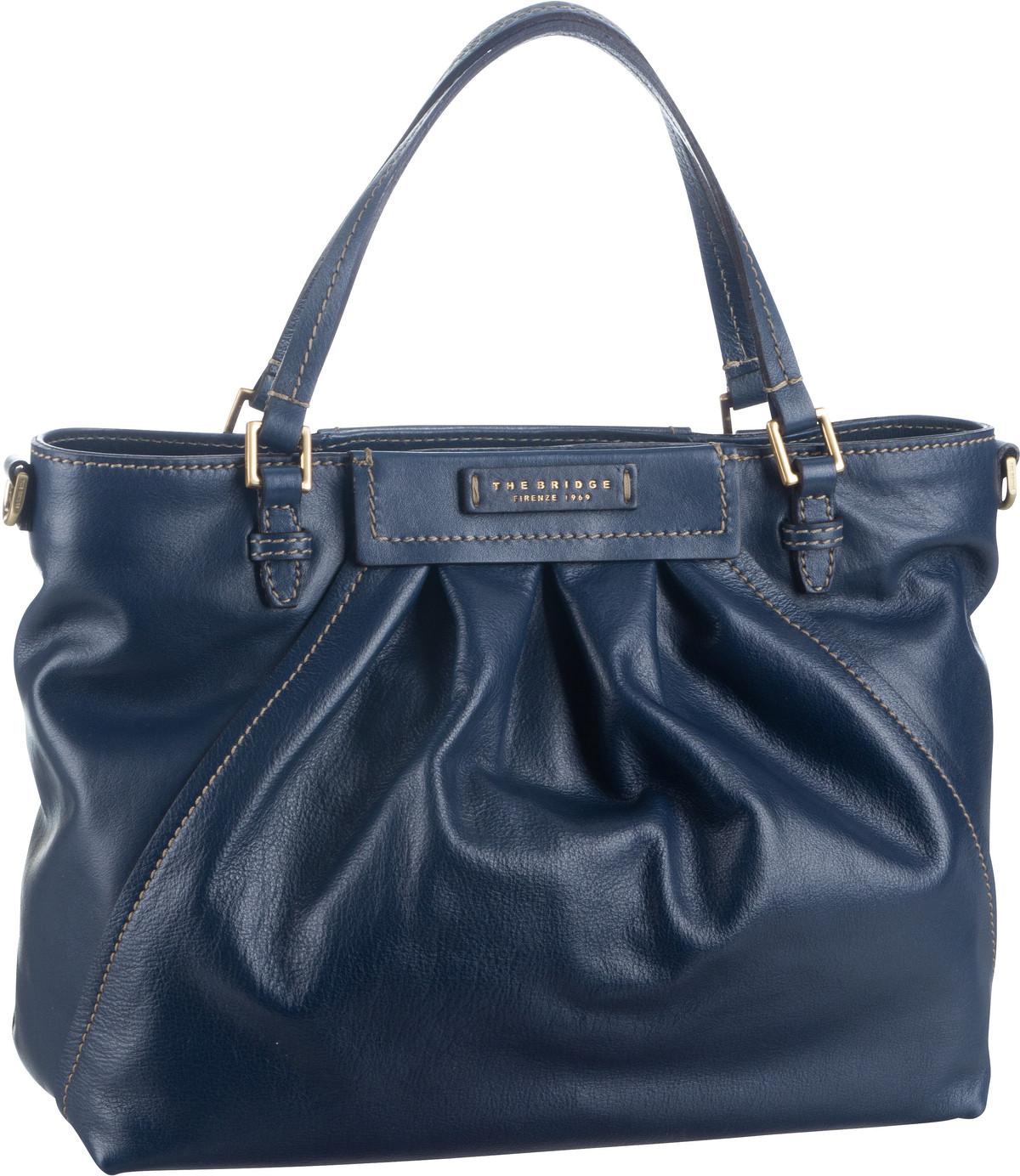 Handtasche Ginori 3500 Blu Cobalto/Oro