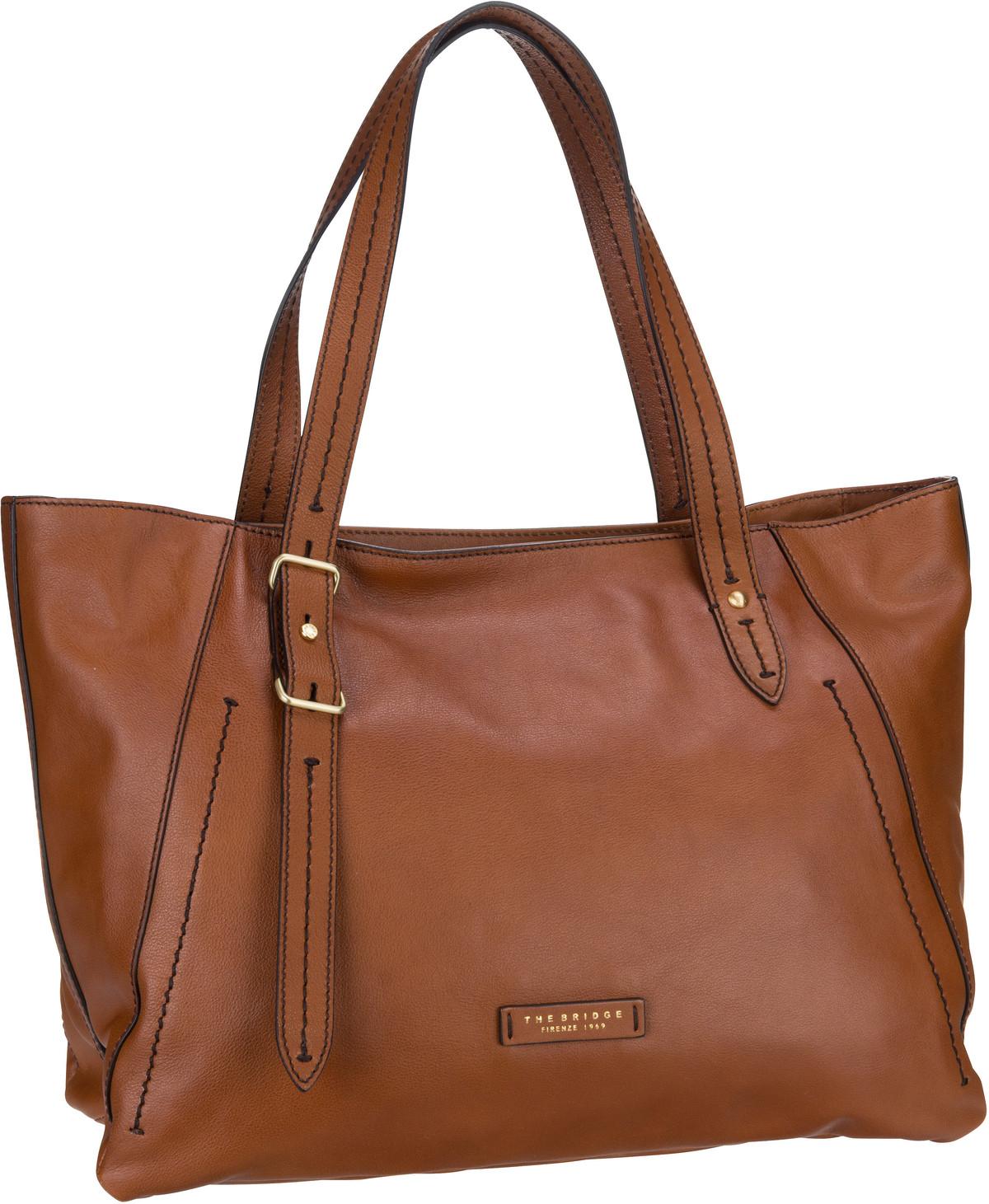 Handtasche Tintori 3940 Cognac/Oro